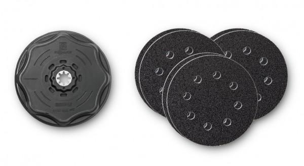 FEIN Schleifblatt-Set mit Schleifteller rund Ø 115mm