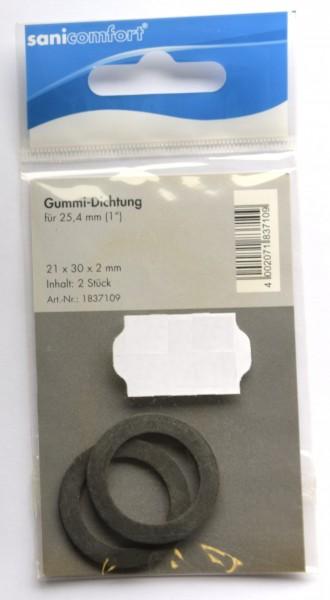 "Gummi-Dichtung 1"""
