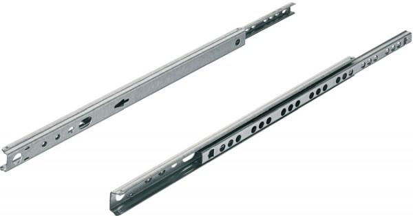 Nutführung, Teilauszug kugelgeführt, Tragkraft bis 10 kg, Stahl