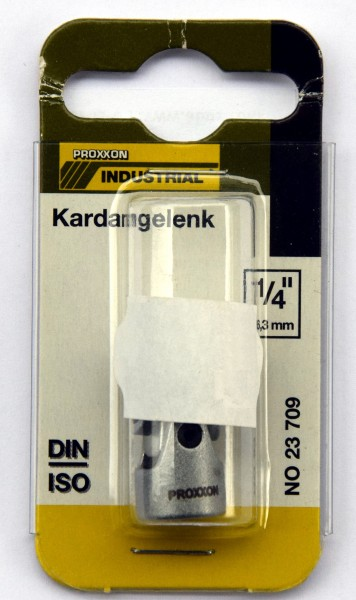 "Proxxon Kardangelenk 6,3mm (1/4"") beidseitig (Art.Nr. 28 709)"