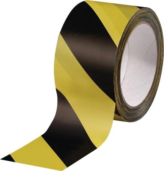 Markierungsband PVC gelb/schwarz