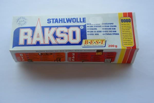 Rakso Stahlwolle – Sorte 0000