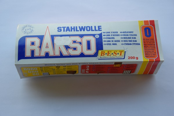 Rakso Stahlwolle – Sorte 0