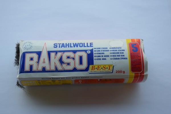 Rakso Stahlwolle – Sorte 5