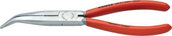 Knipex Flachrundzange gebogen 200mm