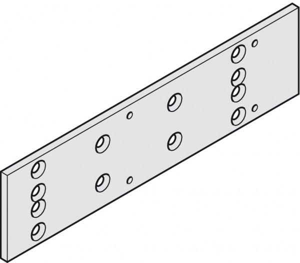Montageplatte, für Dorma TS 73 V, silberfarben