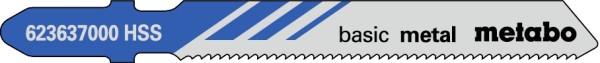 Stichsägeblätter Metall T 118 A (VE=5 Stück)