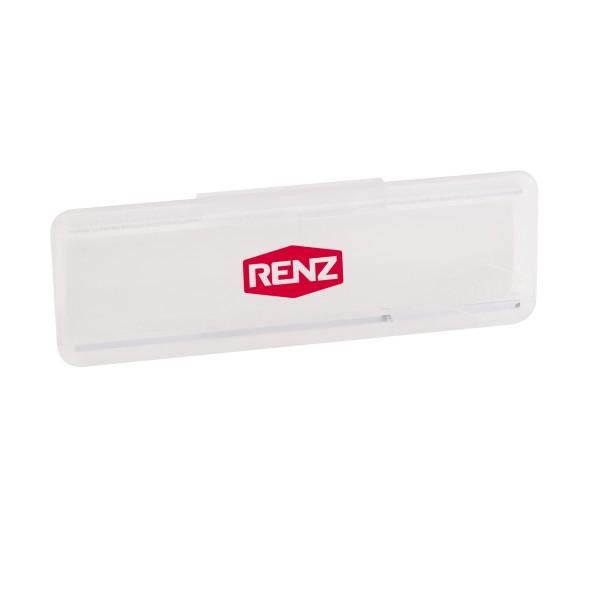 Renz Namensschild 65x22mm für Klappe