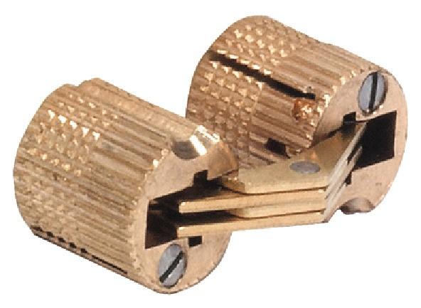 Scharnier, Zysa, für Holzdicken 14–40 mm, für unsichtbaren Anschlag
