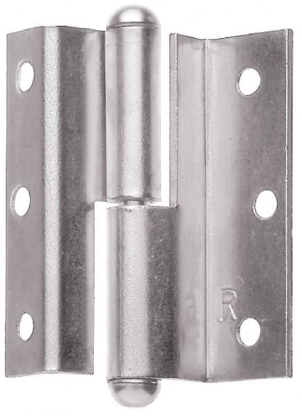 Aufschraubband, aus Stahl, Kröpfung D, 7,5 mm