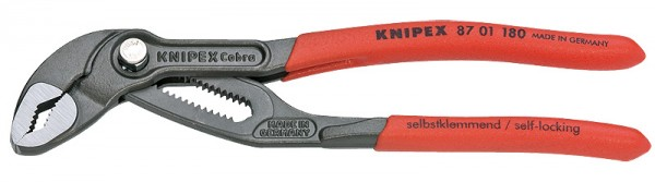 KNIPEX Wasserpumpenzange Cobra® grau atramentiert 180mm