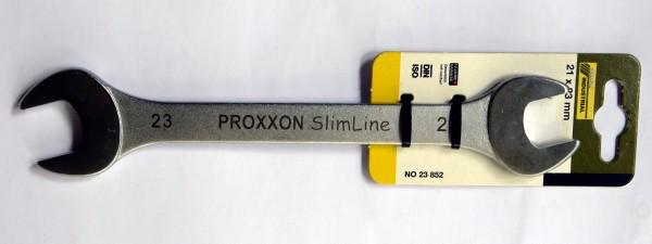 Proxxon Slim Line Doppel-Maulschlüssel 21x23mm (Art.Nr. 23 852)