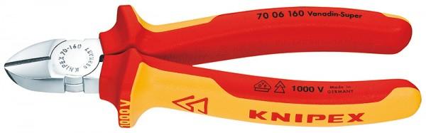 Knipex VDE Seitenschneider verchromt 160mm