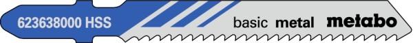 Stichsägeblätter Metall T 118 B (VE=5 Stück)