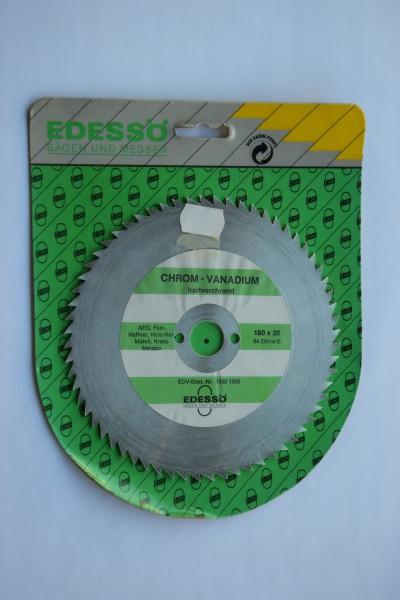 EDESSÖ - Kreissägeblatt Chrom-Vanadium, hartverchromt 160X20, 64 Zähne B