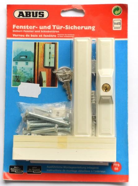 ABUS - Fenster- und Tür- Sicherung, FTS88 weiß