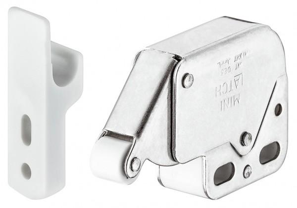 Federschnapp-Verschluss, Mini-Latch, zum Schrauben, Schnäpper